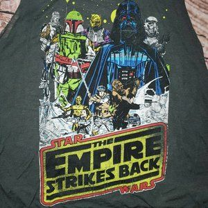 Fifth Sun Star Wars Empire Strikes Back Tank Top S